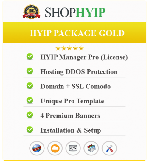 HYIP Package Gold