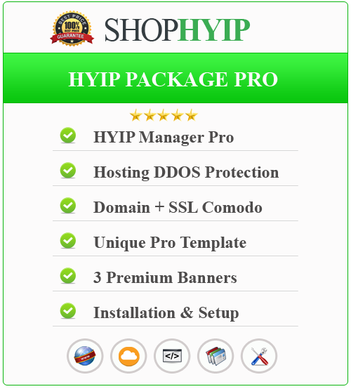 HYIP Package Pro