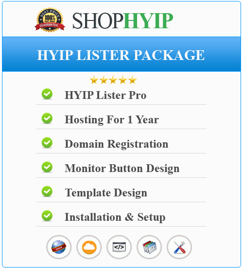 HYIP Lister Package
