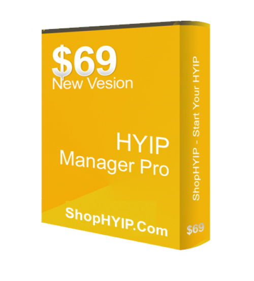 HYIP Manager Pro 2018 (Latest Version)
