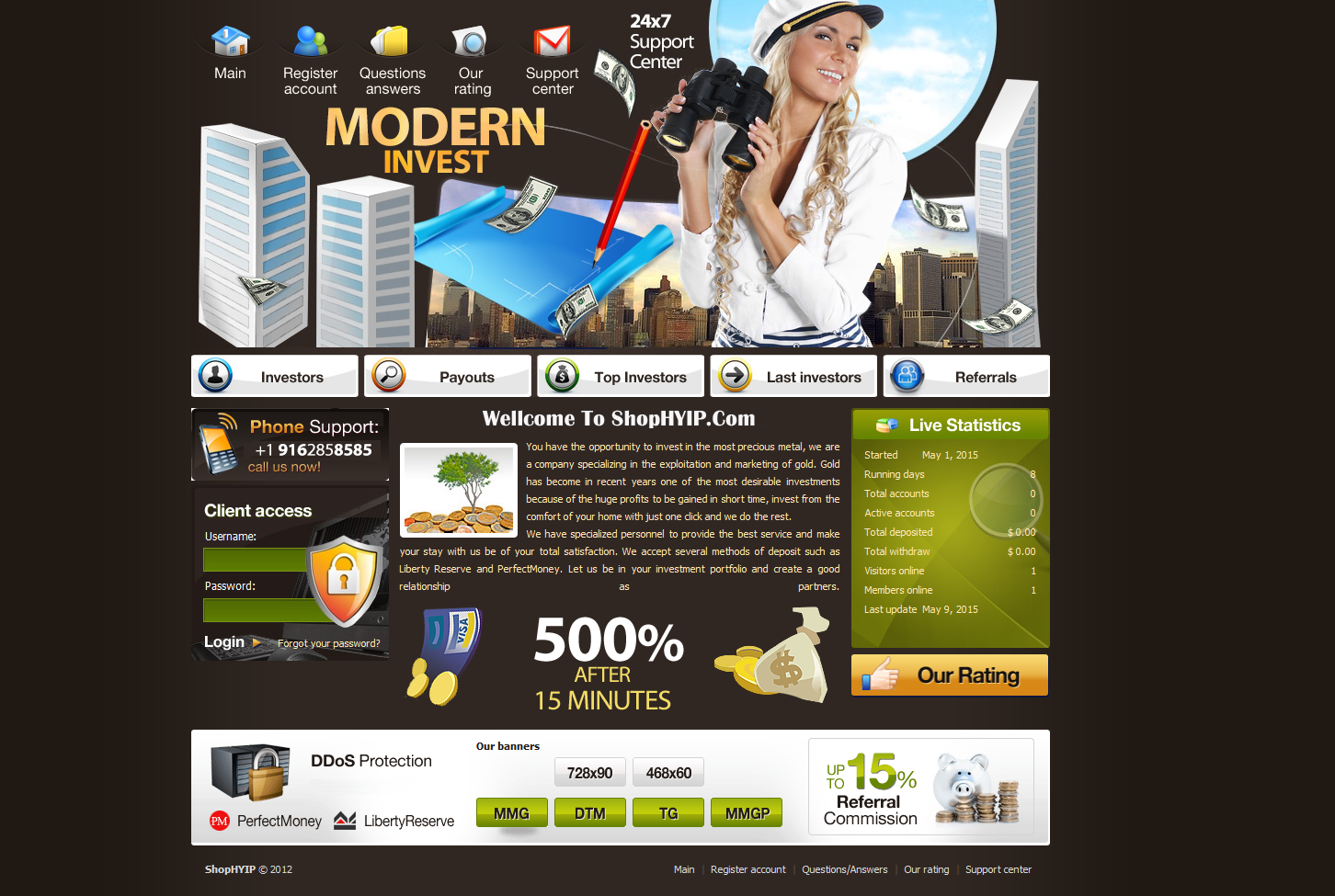 Unlimited forex hyip