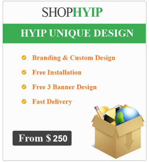 HYIP Unique Design