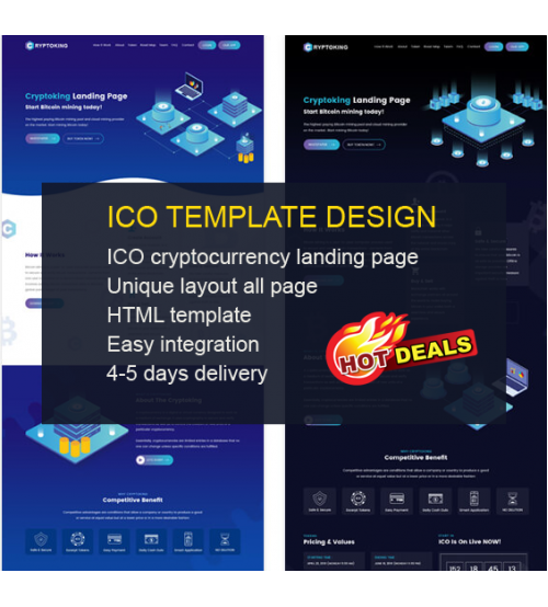 ICO Template Deisign